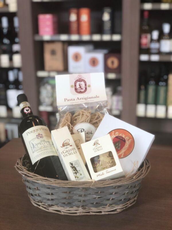 Geschenkmand Toscana